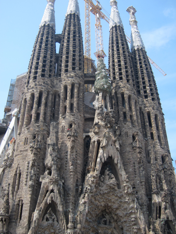 Of course it is the city where Gaudi has many of his works, which are awe-inspiring.